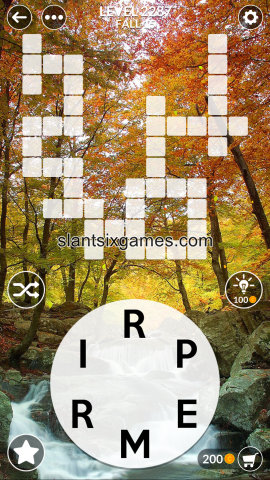 Wordscapes level 2287