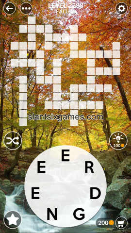 Wordscapes level 2288