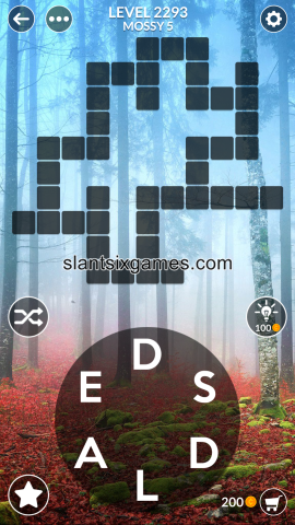 Wordscapes level 2293