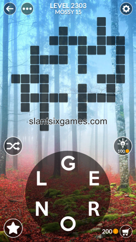 Wordscapes level 2303