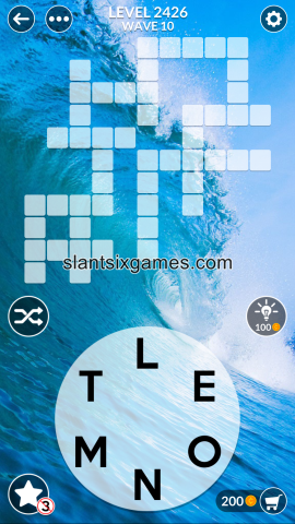 Wordscapes level 2426