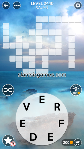 Wordscapes level 2440