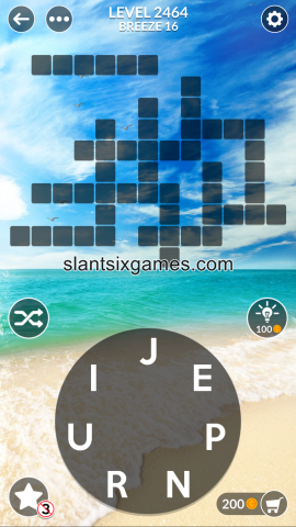 Wordscapes level 2464