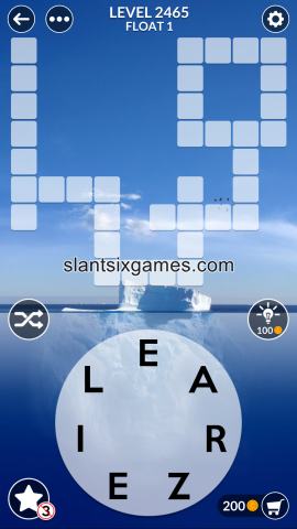 Wordscapes level 2465