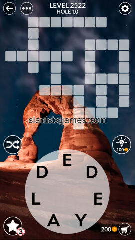 Wordscapes level 2522