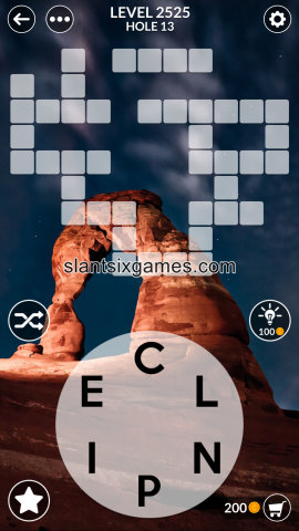 Wordscapes level 2525