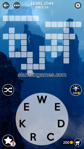 Wordscapes level 2544