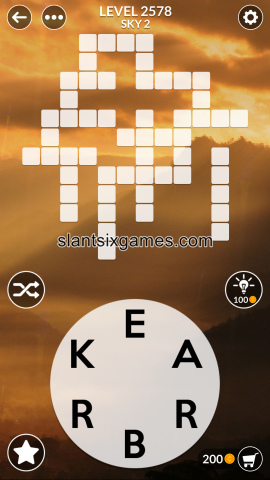 Wordscapes level 2578