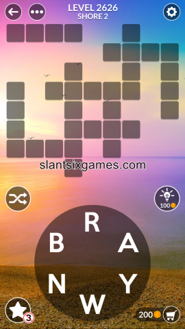 Wordscapes level 2626