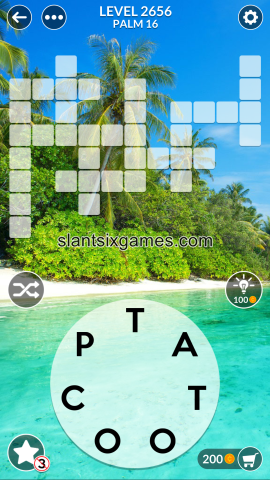 Wordscapes level 2656