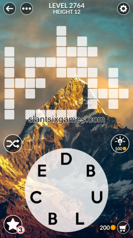 Wordscapes level 2764