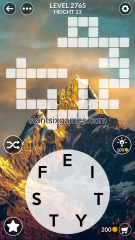 Wordscapes level 2765