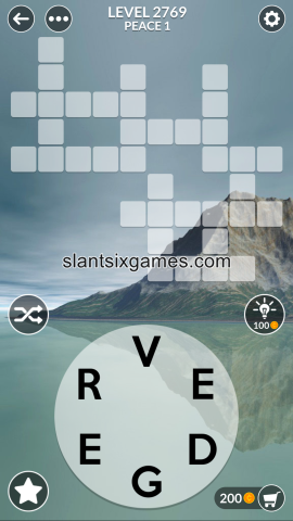 Wordscapes level 2769
