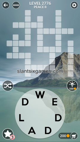 Wordscapes level 2776