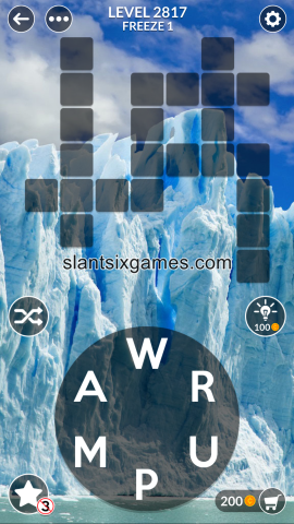 Wordscapes level 2817