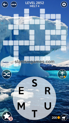 Wordscapes level 2852