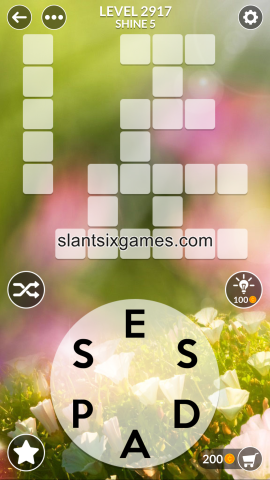 Wordscapes level 2917