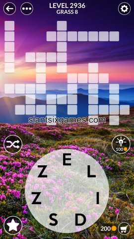 Wordscapes level 2936