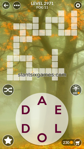 Wordscapes level 2971