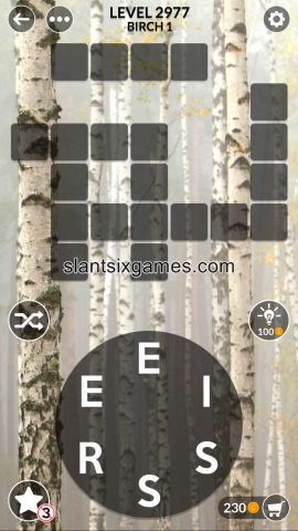Wordscapes level 2977