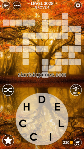 Wordscapes level 3028