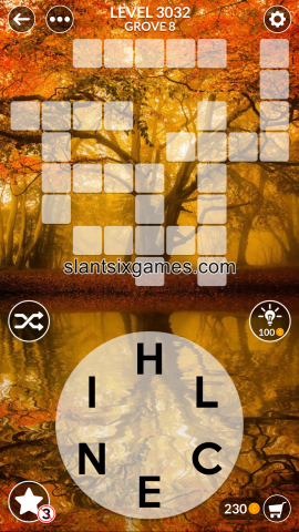 Wordscapes level 3032