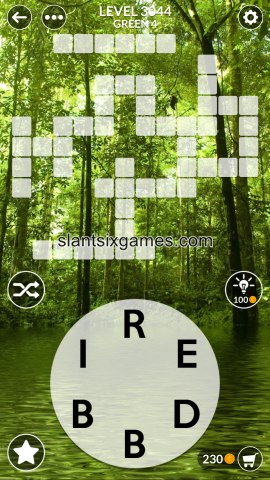 Wordscapes level 3044