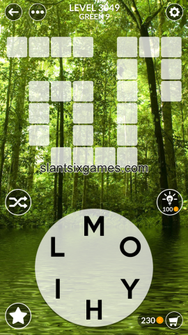 Wordscapes level 3049