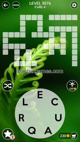 Wordscapes level 3076