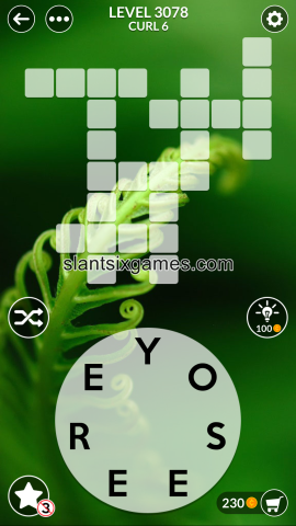 Wordscapes level 3078