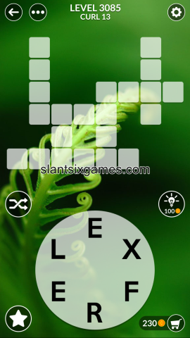 Wordscapes level 3085