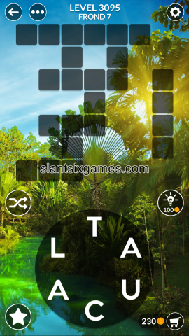 Wordscapes level 3095