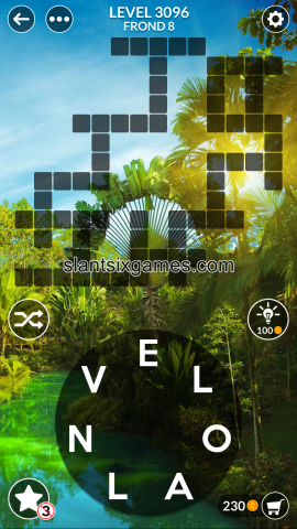 Wordscapes level 3096