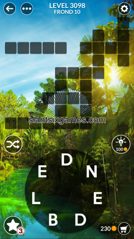 Wordscapes level 3098