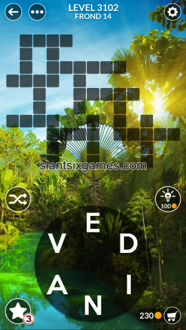 Wordscapes level 3102