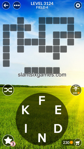 Wordscapes level 3124