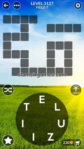 Wordscapes level 3127