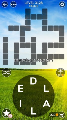 Wordscapes level 3128