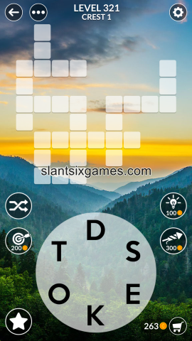 Wordscapes level 321