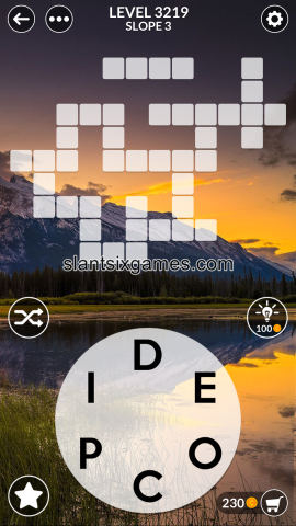 Wordscapes level 3219