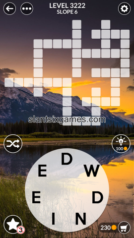 Wordscapes level 3222