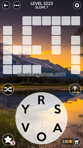 Wordscapes level 3223