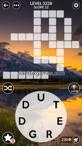 Wordscapes level 3228