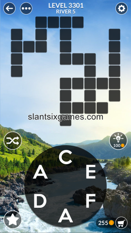 Wordscapes level 3301