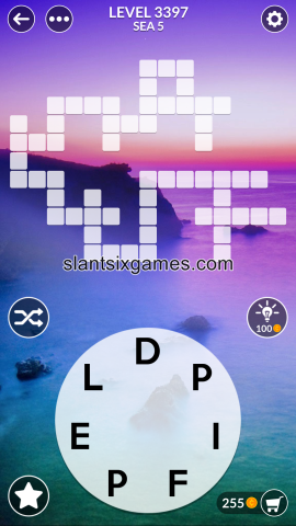 Wordscapes level 3397