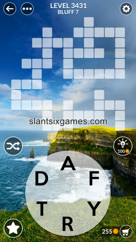 Wordscapes level 3431