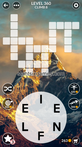 Wordscapes level 360