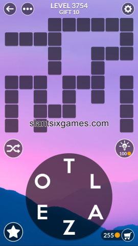 Wordscapes level 3754