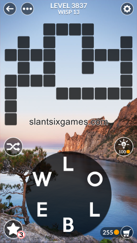 Wordscapes level 3837