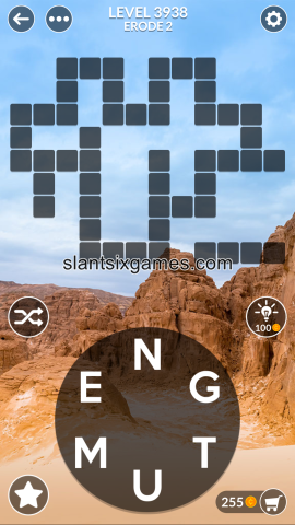 Wordscapes level 3938